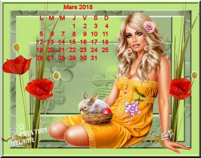 Calendrier mars 4